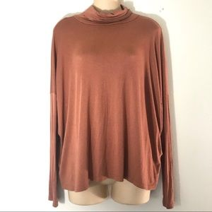 Forever 21 turtle neck long sleeve top